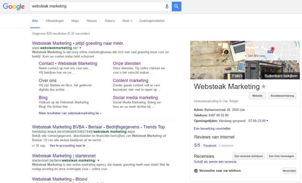 websteak google