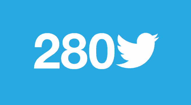 280 tekens Twitter