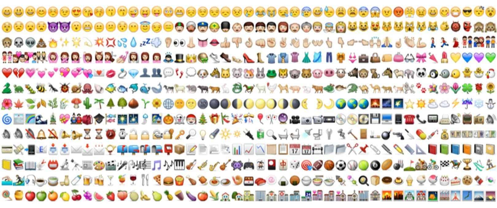 Emoji advertising: binnenkort ook in AdWords?
