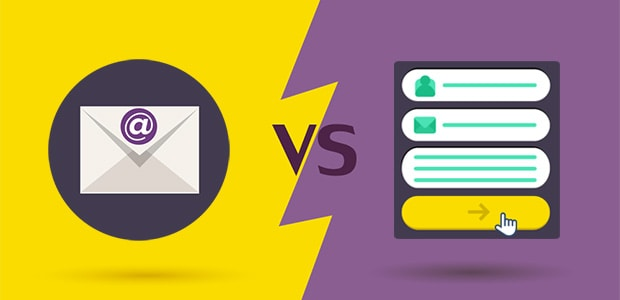 E-mailadres of registratieformulier - wat is de beste call to action?