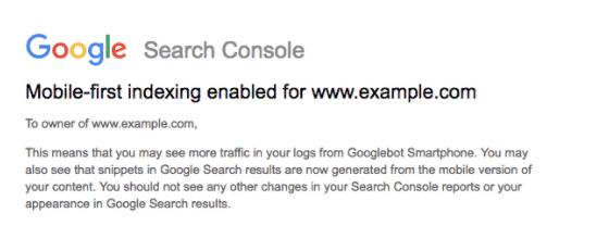 Google start met uitrol van Mobile First Indexing