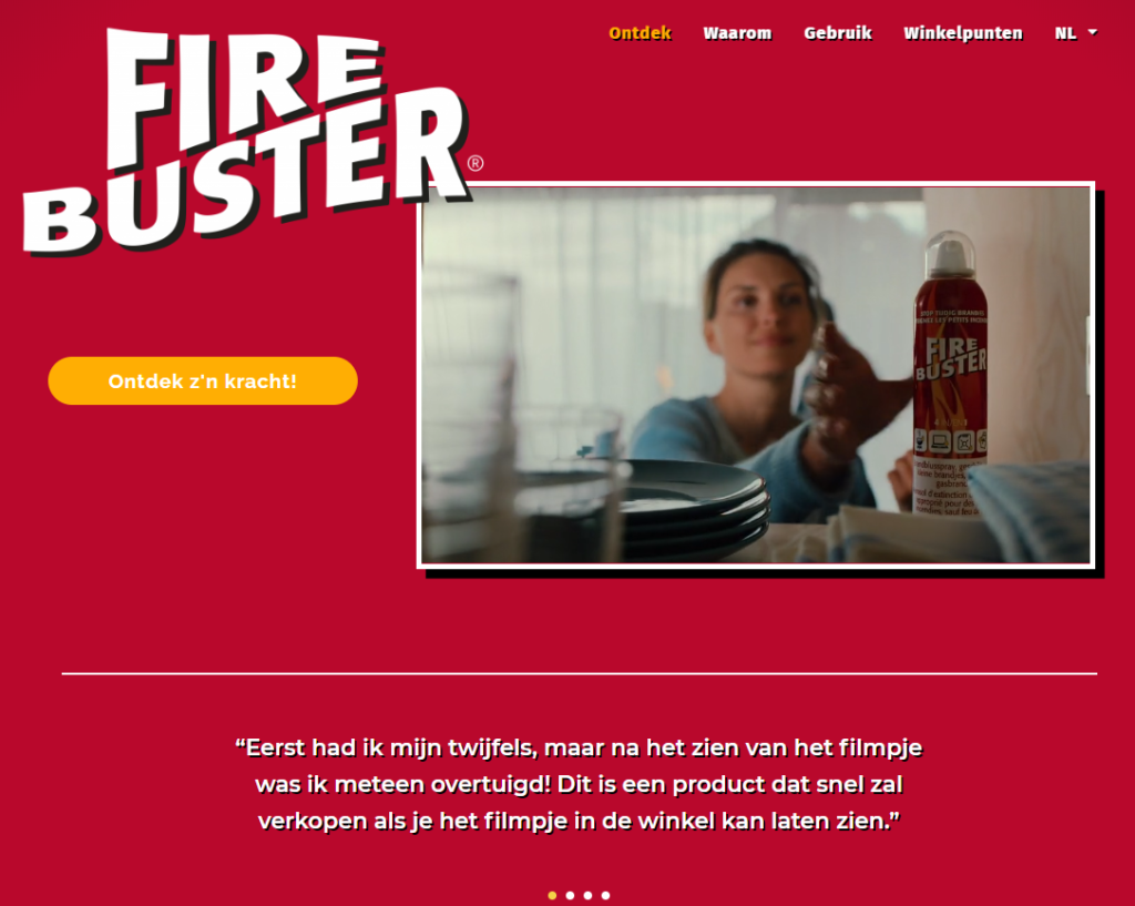 Website Fire Buster